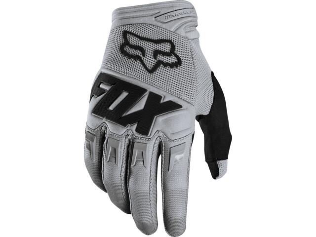 Fox Dirtpaw Race Handschuhe Jugend grey